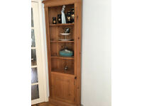 Antique style pine corner unit, excellent condition