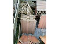 Reclaimed Redland 50 Double Roman Roof tiles - various colours
