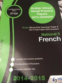 National 5 French Past Papers