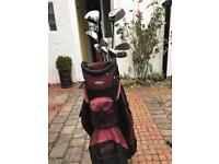 Jack Niklaus Q4 adjustable full set of golf clubs.
