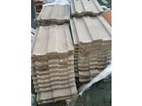 Major roof tiles brown
