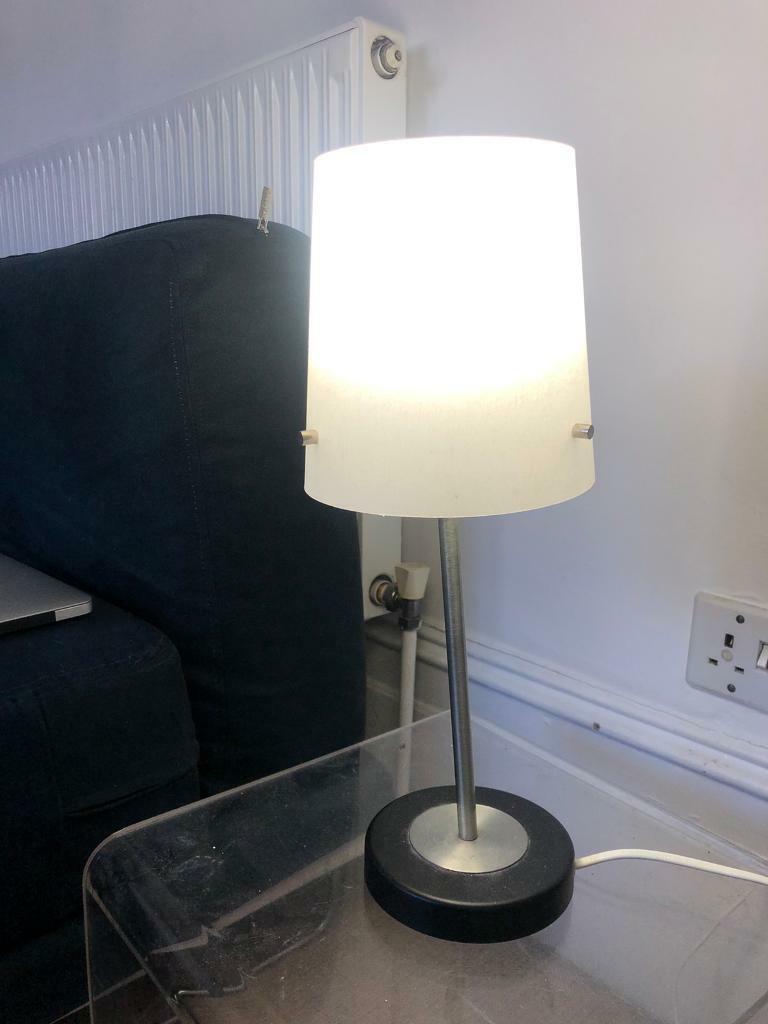 Ikea white table lamp Bedside Light | in Camden, London | Gumtree