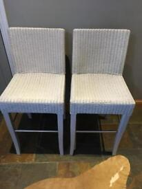 Bar stools Lloyd loom