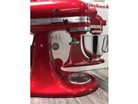 RARELY USED RED KITCHEN AID