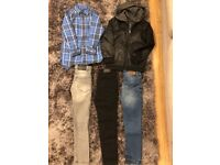 Boys bundle of clothes (age 8) river island and next