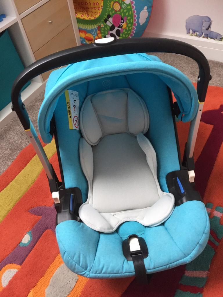 Doona Car Seat With Built In Wheels