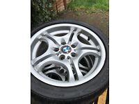 BMW rims 17 inch good condition