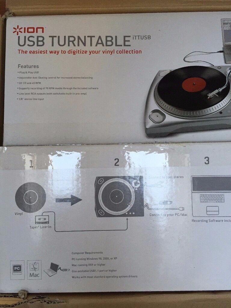 USB Turntable, new, still in box
