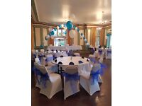 Chair cover hire only £0.50p