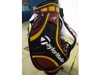 Very rare TaylorMade tour golf bag