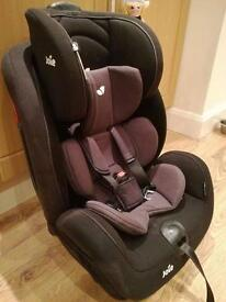 Joie stages car seat with infant insert rear facing