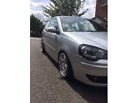 VW Silver Polo GTI Modified Coilovers Shmidts Miltek Exhaust Remapped
