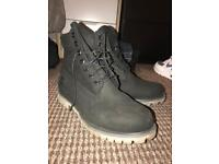 Timberland boots size 9 wore once, 6 months old
