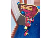 Boys 3 wheel Spiderman scooter - good condition.. Age 1.5 to 3