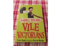 Horrible Histories Vile Victorians book