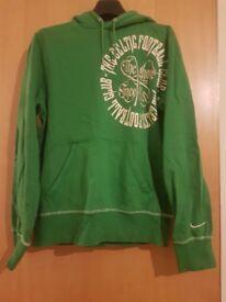 Green Nike Celtic Hoodie small mans suit teenager