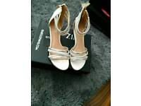 Lovely pair of quiz sandal wedges