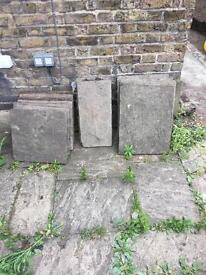Free paving slabs Islington