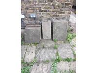 Free paving slabs Islington