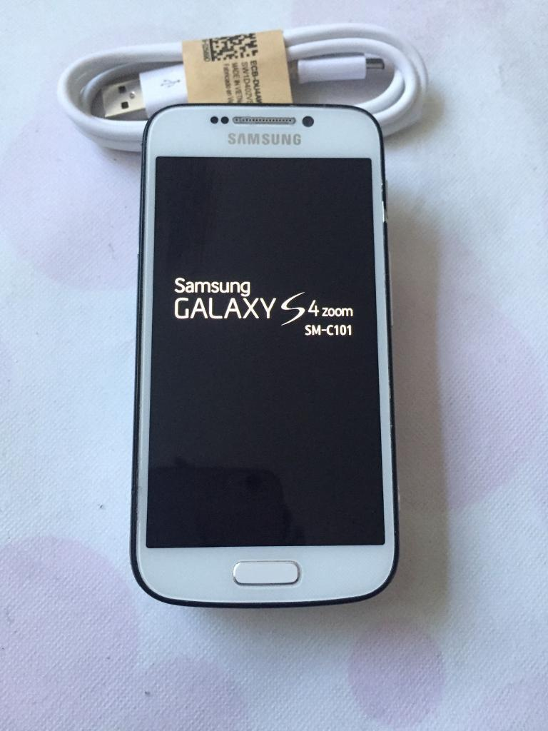 Samsung galaxy s4 Zoom unlockedin Bradford, West YorkshireGumtree - Samsung galaxy S4 Zoom (All networks) Fully working order good condition Collection and delivery available Buy with confidence Thanks