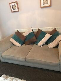 Sofa & chair available free in around 3 weeks