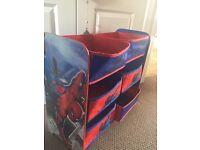 Boys Spider-Man storage unit