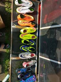 Football boots all different size and price from £10 each