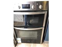 Indesit Built in Double Electric Oven New and Unused