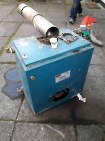 Free boiler working or for scrap