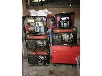 job lot generators honda lpg diesel subaru some working
