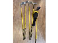 Dunlop loco junior golf clubs Driver, 5/7/9 and putter