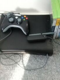xbox 360 1controller 1wireless adapter 18games good condition