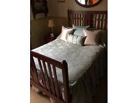 Antique Edwardian Double Bed Frame
