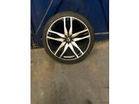 AXE 22 inch alloy wheels & tyres , fit bmw x5 & vw transporter t5
