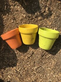 Small Colourful pots