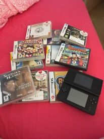 Nintendo DS and 10 games