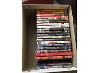 138 dvds plus 9 box sets gangster action war