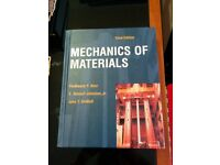 Mechanics of Materials Hardcover - Mint Condition