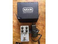MXR Bass Overdrive distortion pedal