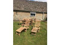 Bramblecrest Teak Steamer Chairs