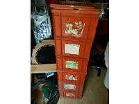 Industrial heavy duty stacking storage boxes