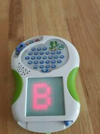 Leapfrog writing letter