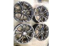 VW T5 /T6 WOLFRACE 18'' LOAD RATED ALLOY WHEELS