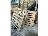 FREE CRATES - Wooden Pallets to give away