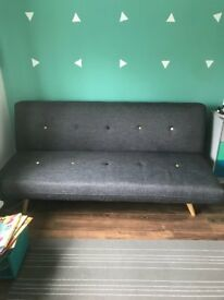 Sofa Bed Pluto - Grey (Like New)