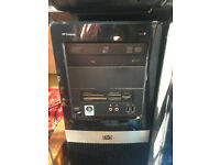 HP COMPAQ DX2450 Microtower. AMD Phenom 8600 Triple-core. Windows 10 Pro 2.00GB RAM. 150GB HDD 64bit