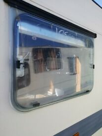 Adria Caravan side window