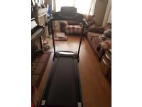 Roger Black Folding Treadmill - used once