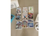 Wii and Wii Fit package