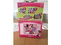 Lovely Minnie Mouse puzzles in excellent condition